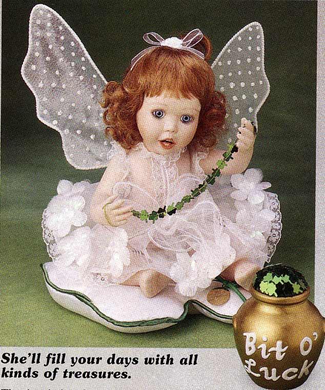 Bit O Luck Angel Doll-by Cindy M McClure 1997 Ashton Drake