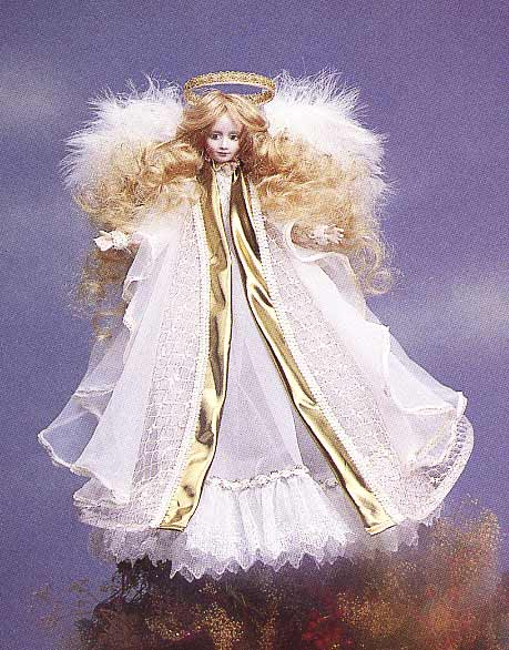 Christmas Tree Topper Doll by Cindy M McClure 1986 Victorias ...
