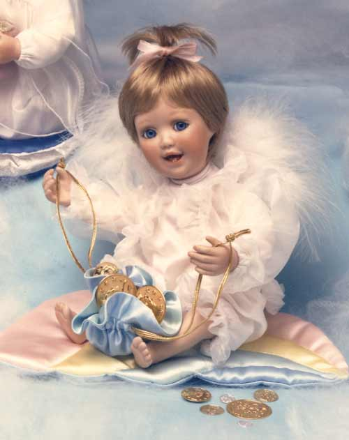 Luck at the end of the Rainbow Doll by Cindy M McClure 1992 Ashton Drake