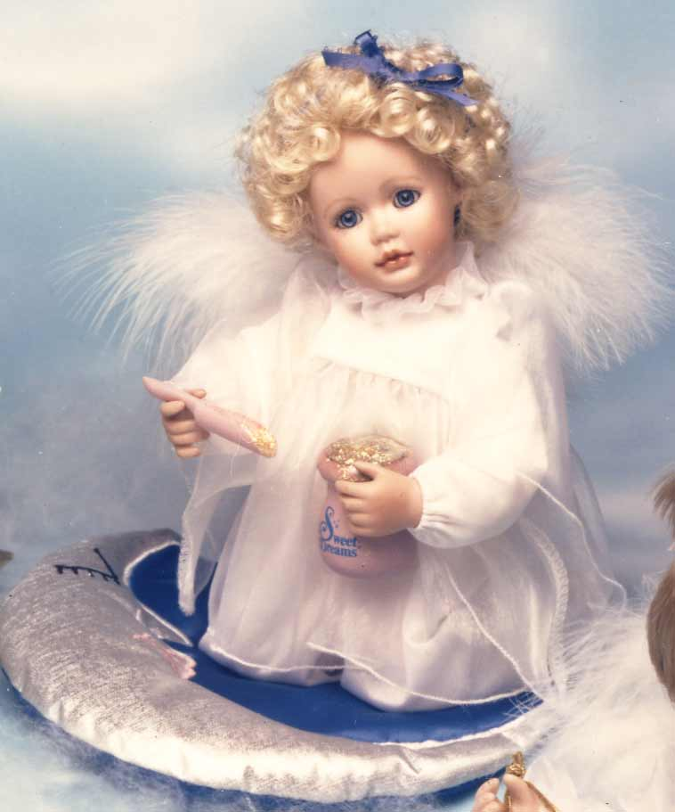 Sweet Dreams Doll by Cindy M McClure 1992 Ashton Drake