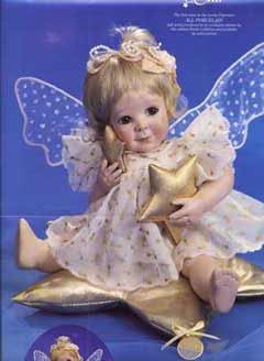 Wishing On a Star Angel Doll by Cindy M McClure 1995 Ashton Drake
