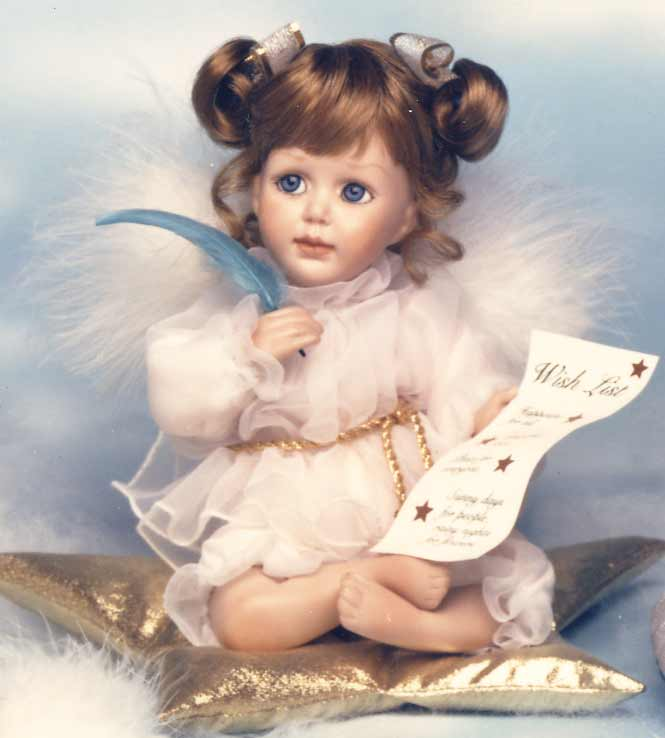 Wishing on a Star Doll by Cindy M McClure 1992 Ashton Drake