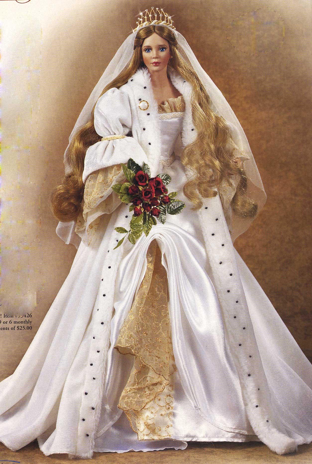 Bride Fairy Tale 2 Sleeping Beauty Doll By Cindy Mcclure