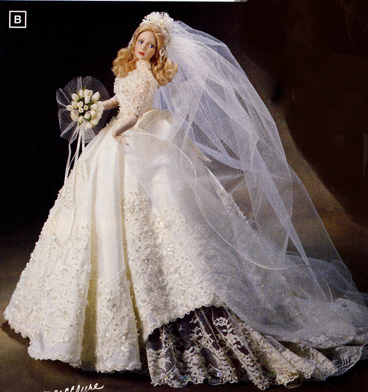 BRIDE FOREVER 1 Melody Bride Doll by Cindy Mcclure 1998 Ashton Drake