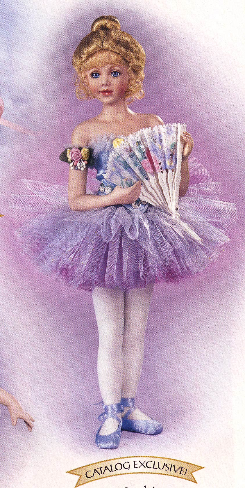 Sophie Degas Ballerina doll by Cindy McClure 2003 2004