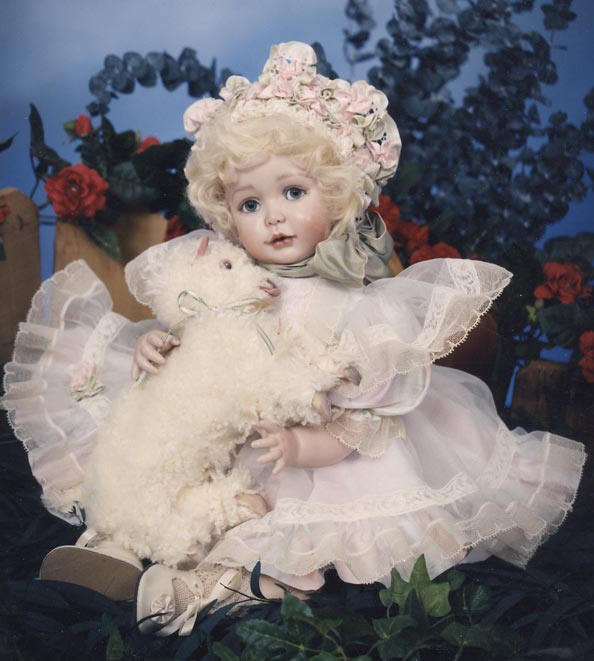 Copy of Mary had a Little Lamb One of a Kind By Cindy McClure Disney Auction 1995