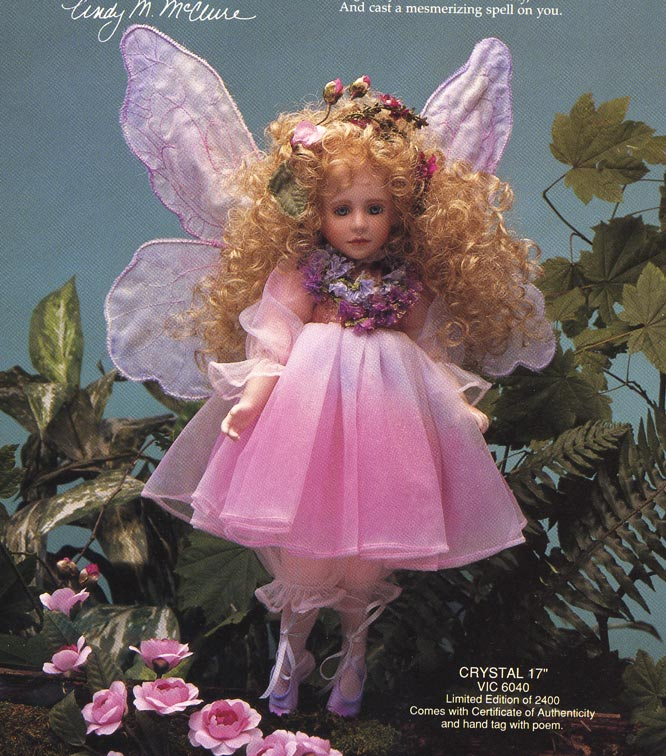Crystal Fairy by cindy McClure 1992 produced by Victoria