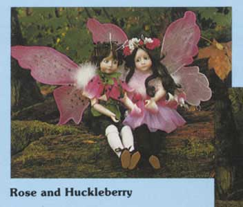 Rose and Huckleberry Artist Edition by Cindy Mcclure 1984
