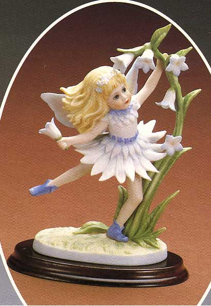 Bluebell figurine by Cindy McClure 1987
