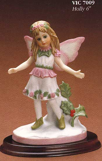 Holly figurine by Cindy McClure 1987
