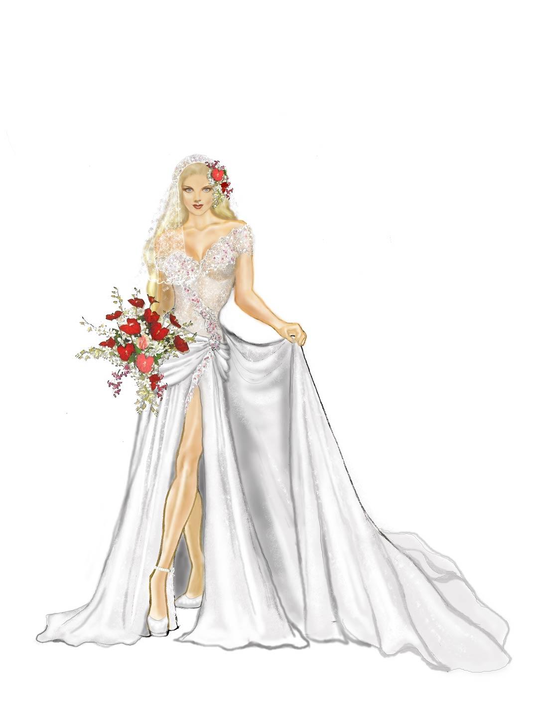 Tropical bride 3 Cindy McClure