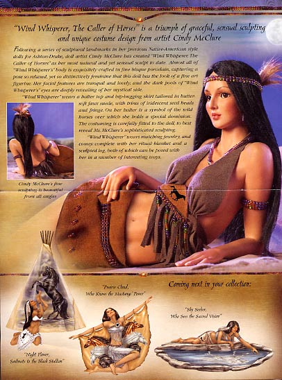Wind Whisperer Native American Indian Woman by Cindy McClure 2005 (3)