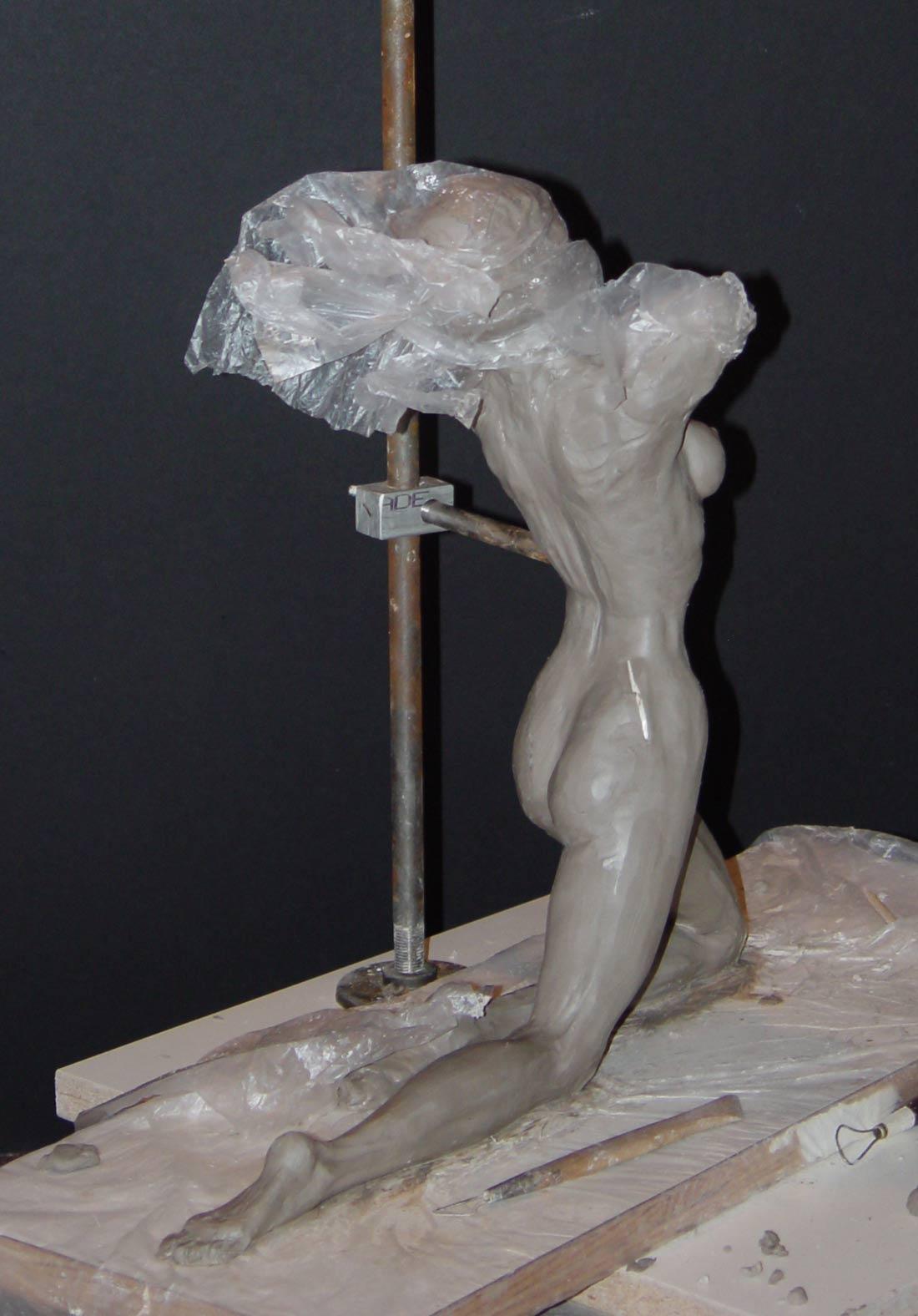 Sculpt In Progress 2 Cindy McClure