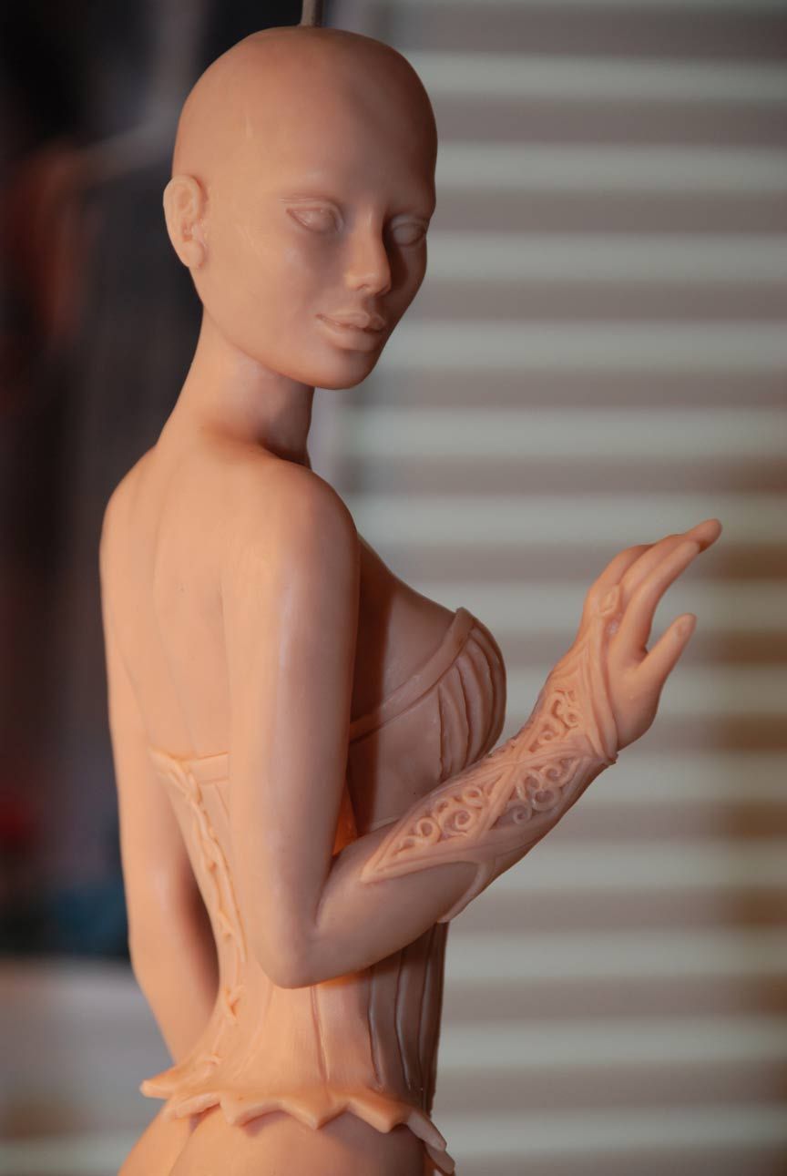 Spell Bound Sculpt by Cindy McClure Anne Stokes 2010 (2)