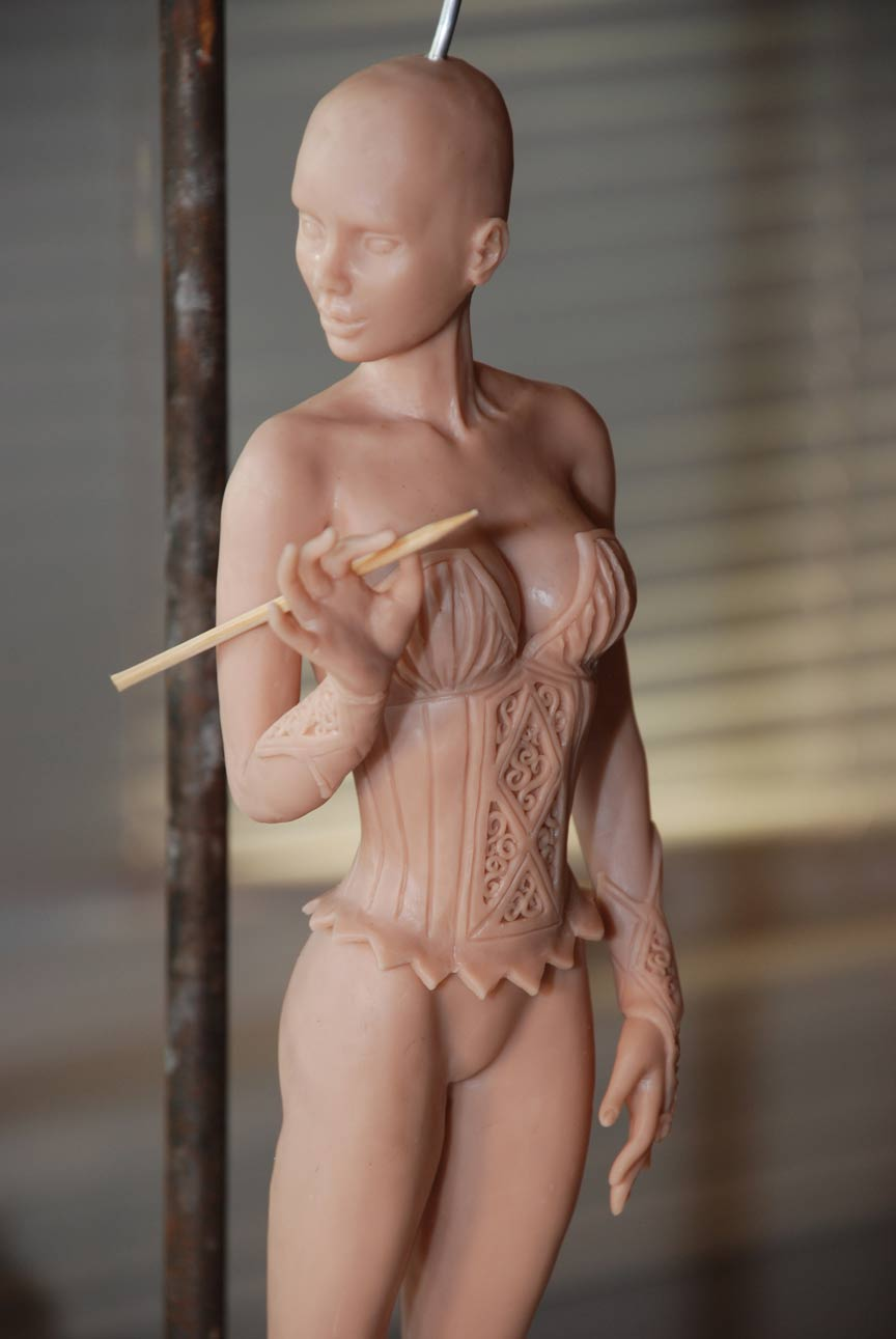 Spell Bound Sculpt by Cindy McClure Anne Stokes 2010