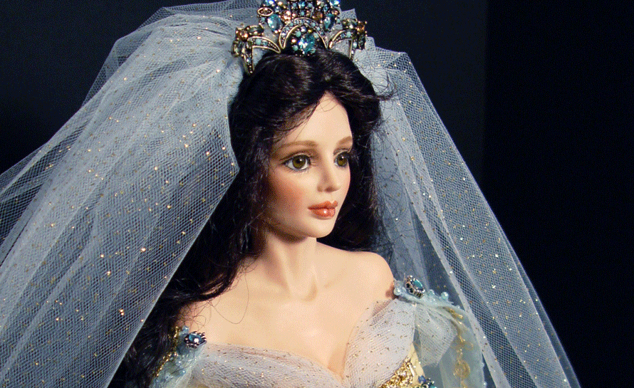 "From the Legendary Bride Series: ""Guinevere"" An Original Sculpt from the Artist Edition by Cindy McClure 2003 RARE"