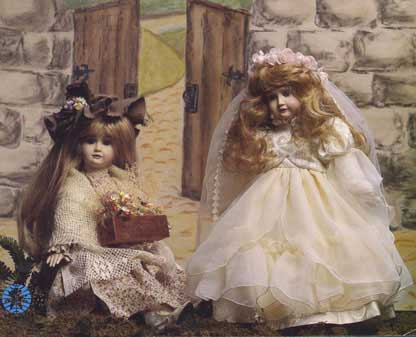 Princess and Pauper 1983 Firstever Original Doll by Cindy McClure reproduced by Victorias Collectibles